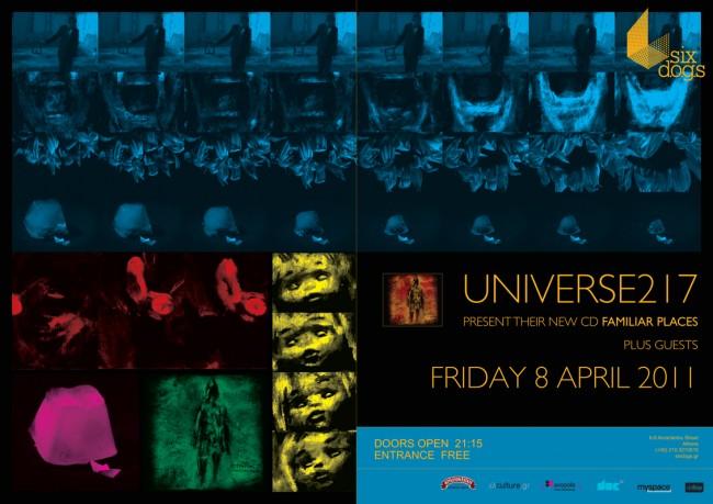 Universe217 live @ SixDogs – release party of Familiar Places LP