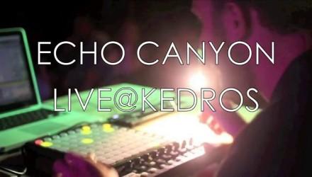 Echo Canyon live@Kedros, Donousa