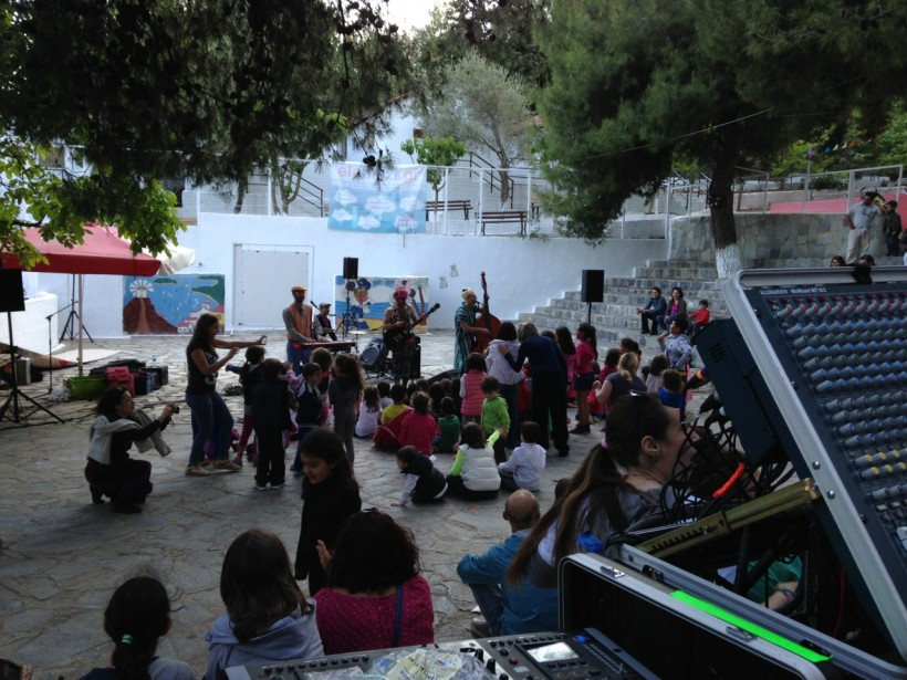Burger project live@Anagennisi Camping