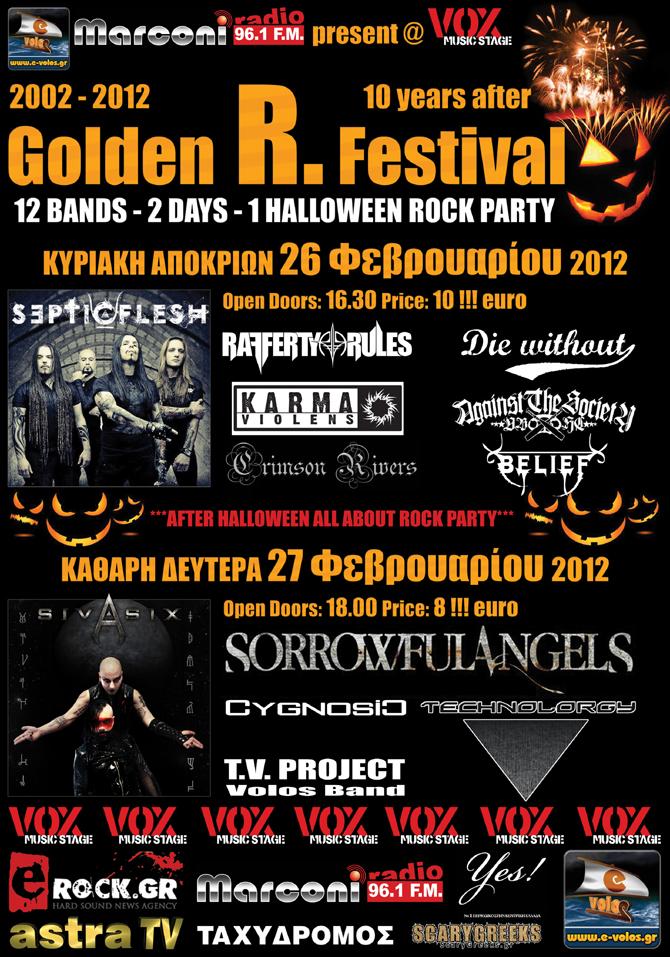 Karma Violens live@GoldenR Festival, Volos