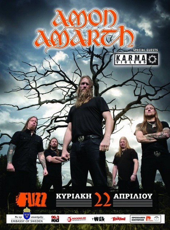 Karma Violens live@Fuzz Club supporting Amon Amarth