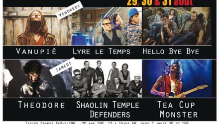 Theodore live@Clairière en Chanter Festival, France