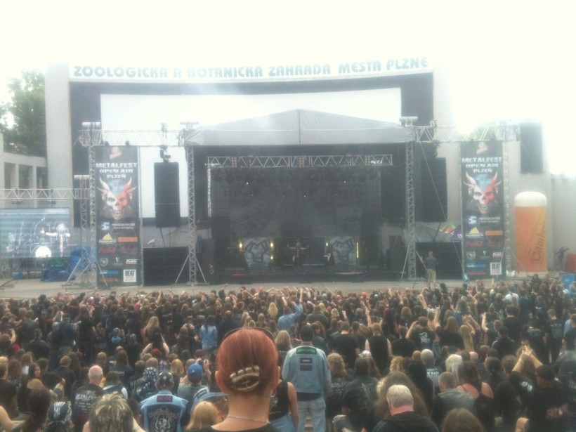 Septicflesh MetalFest Tour 2012