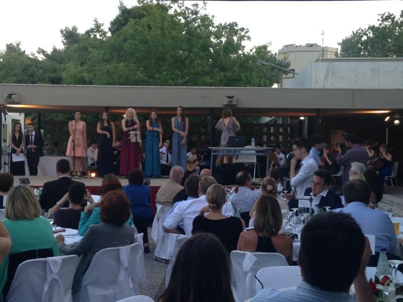 Δεξίωση αποφοίτησης λυκείου Ελληνογερμανικής σχολής