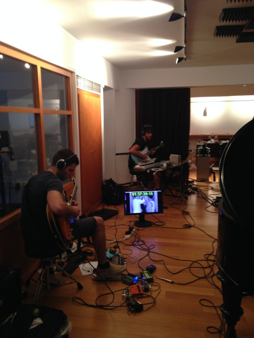 The cameraman studio recording