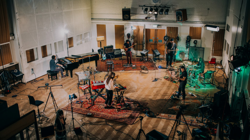 Theodore live recording @ Abbey Road Studio 2, London