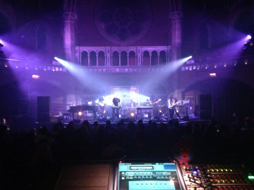Theodore live @ Union Chapel, London