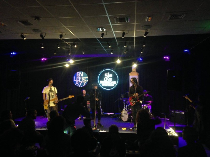 MOAN live @ 5/25 radio live sessions, En Lefko FM