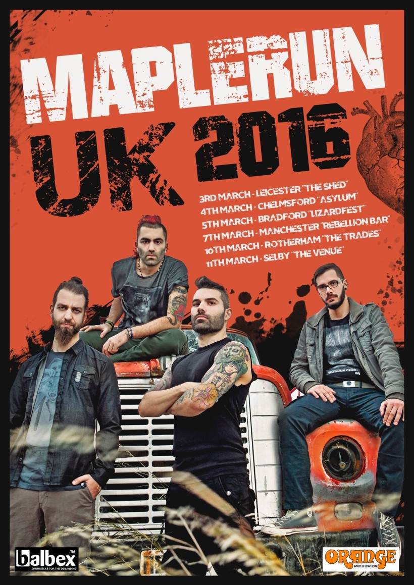 Maplerun uk tour 2016