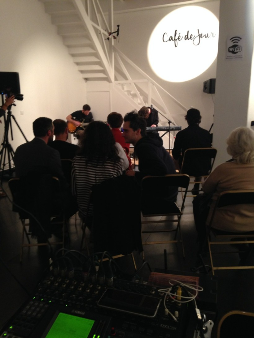 Theodore live @ ArtK studio, Paris