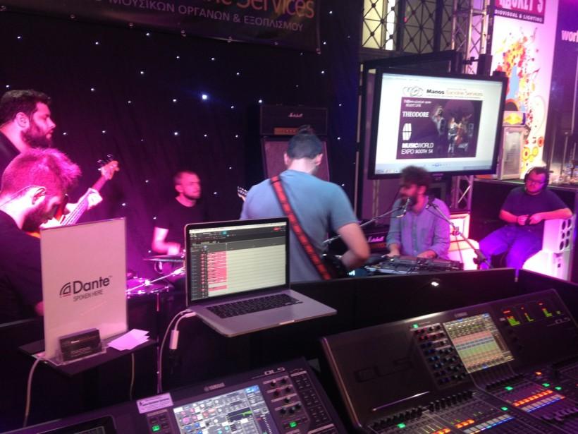 Theodore silent live @ MusicWorld Expo 2016