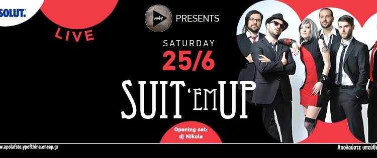 suit'em up live @ moby, piraeus
