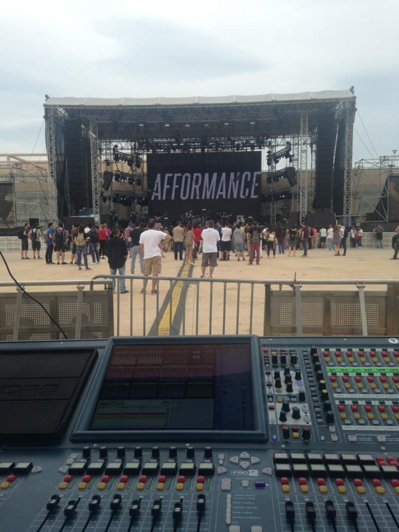 Afformance live @ release athens festival 2016