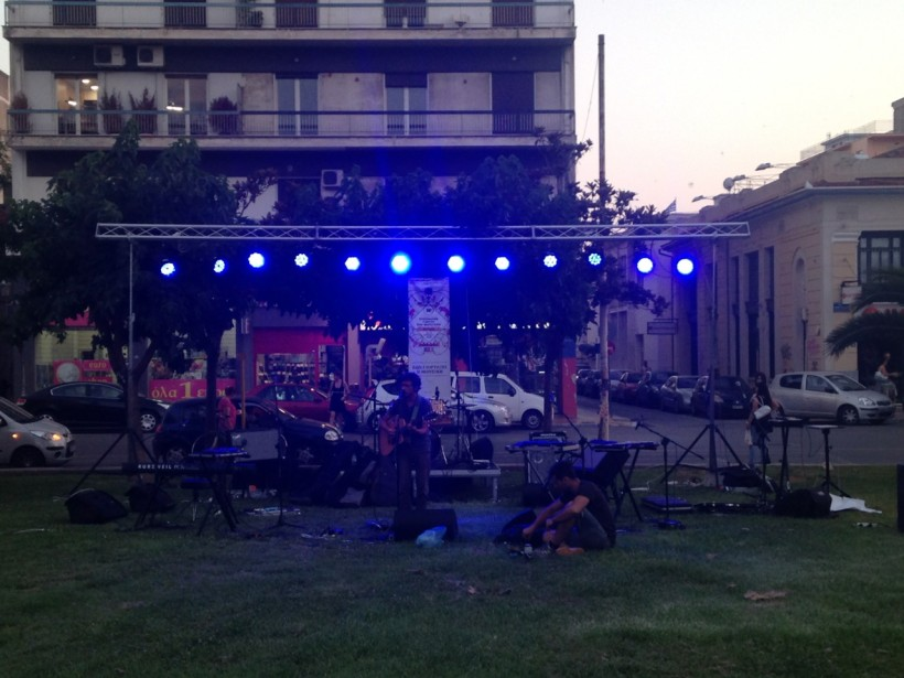 moa bones live @ european music day festival, volos