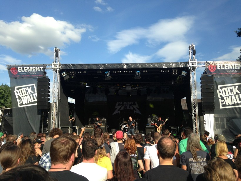 planet of zeus live @ rock im wald festival 2016, germany